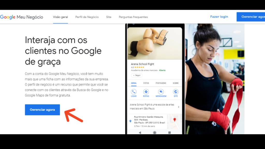 Google Meu Negócio: gerenciar agora