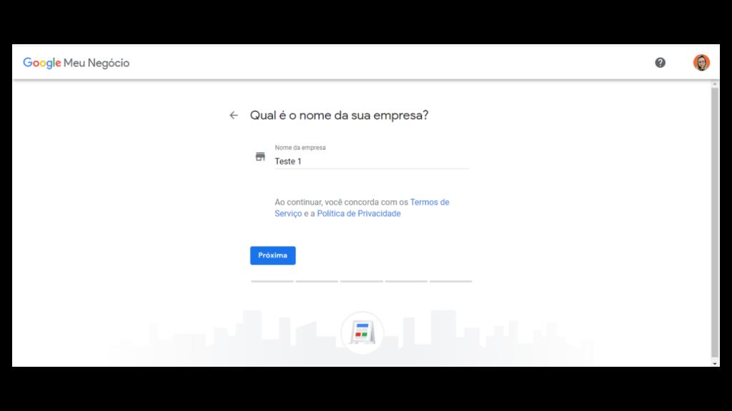 Google Meu Negócio: preencha as informações